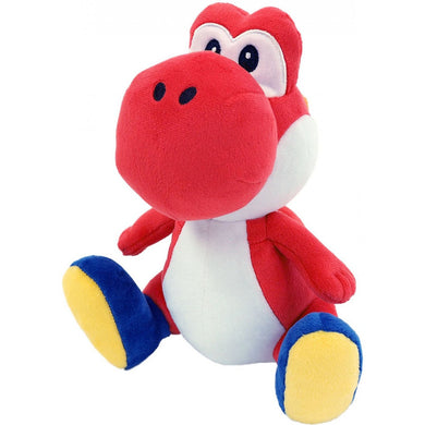 Little Buddy Super Mario All Star Collection Red Yoshi Plush, 7