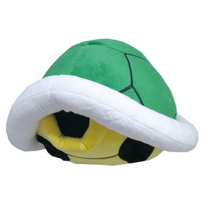 Little Buddy Super Mario Series Green Koopa Shell Pillow Cushion Plush, 15""
