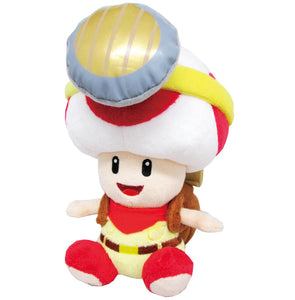 Little Buddy Super Mario Series Captain Toad Sitting Plush, 6.5""