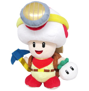 Little Buddy Super Mario Series Captain Toad Standing Plush, 9""