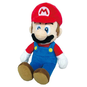 Little Buddy Super Mario All Star Collection Mario Plush, 9.5""