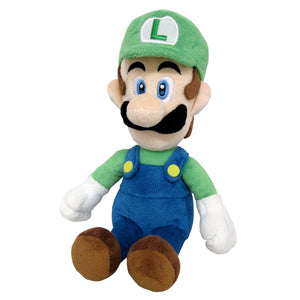 Little Buddy Super Mario All Star Collection Luigi Plush, 10""