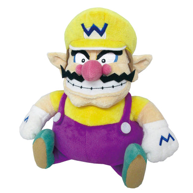 Little Buddy Super Mario All Star Collection Wario Plush, 10