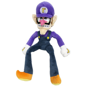 Little Buddy Super Mario All Star Collection Waluigi Plush, 12.5""