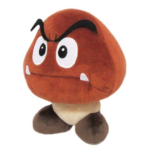 Little Buddy Super Mario All Star Collection Goomba Plush, 5