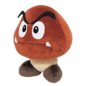 Little Buddy Super Mario All Star Collection Goomba Plush, 5""