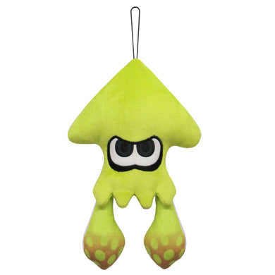 Little Buddy New Splatoon 2 Neon Yellow Inkling Squid Plush, 9