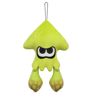 Little Buddy New Splatoon 2 Neon Yellow Inkling Squid Plush, 9""