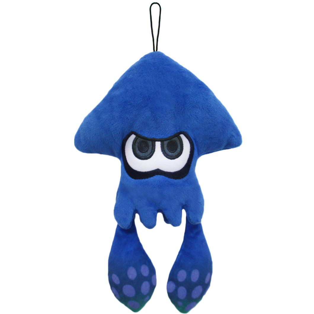 Little Buddy Splatoon Dark Blue Inkling Squid Plush, 9