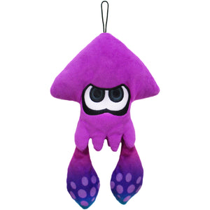 Little Buddy Splatoon Purple Inkling Squid Plush, 9""