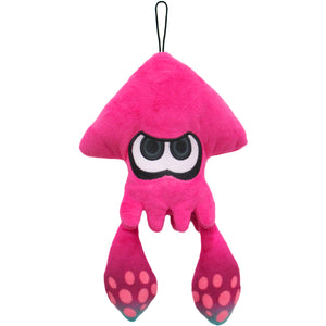 Little Buddy Splatoon Pink Inkling Squid Plush, 9""