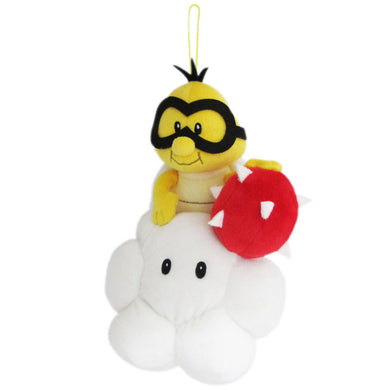 Little Buddy Super Mario All Star Collection Lakitu / Jyugemu Plush, 8