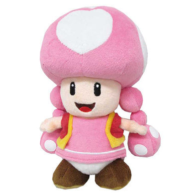 Little Buddy Super Mario All Star Collection Toadette Plush, 7.5