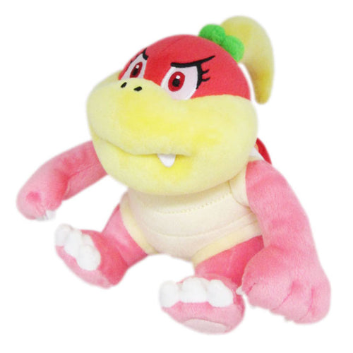 Little Buddy Super Mario All Star Collection Bun Bun Pink / Pom Pom Plush, 6.5