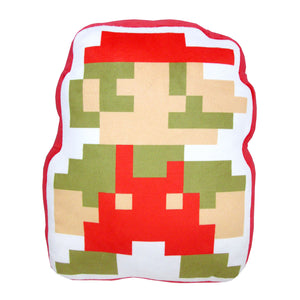 Little Buddy Super Mario Series 8-Bit Mario Pillow Cushion Plush, 14""
