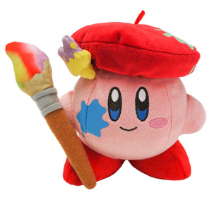 Little Buddy USA 1460 Adventure Kirby of the Stars - Kirby Artist Plush, 6""