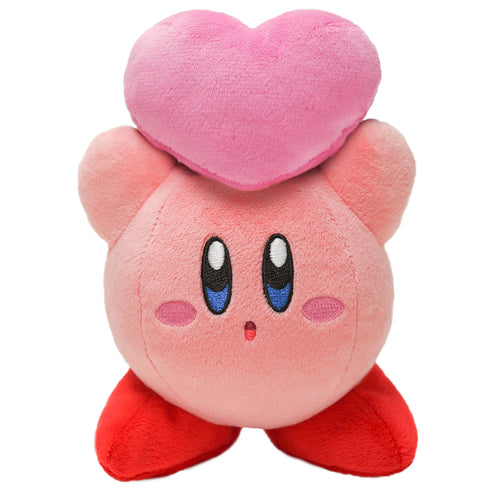 Little Buddy USA 1462 Adventure Kirby of the Stars - Kirby with Friend's Heart Plush, 6.5