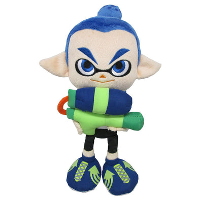 Little Buddy Splatoon Male Inkling Boy Blue Plush, 10
