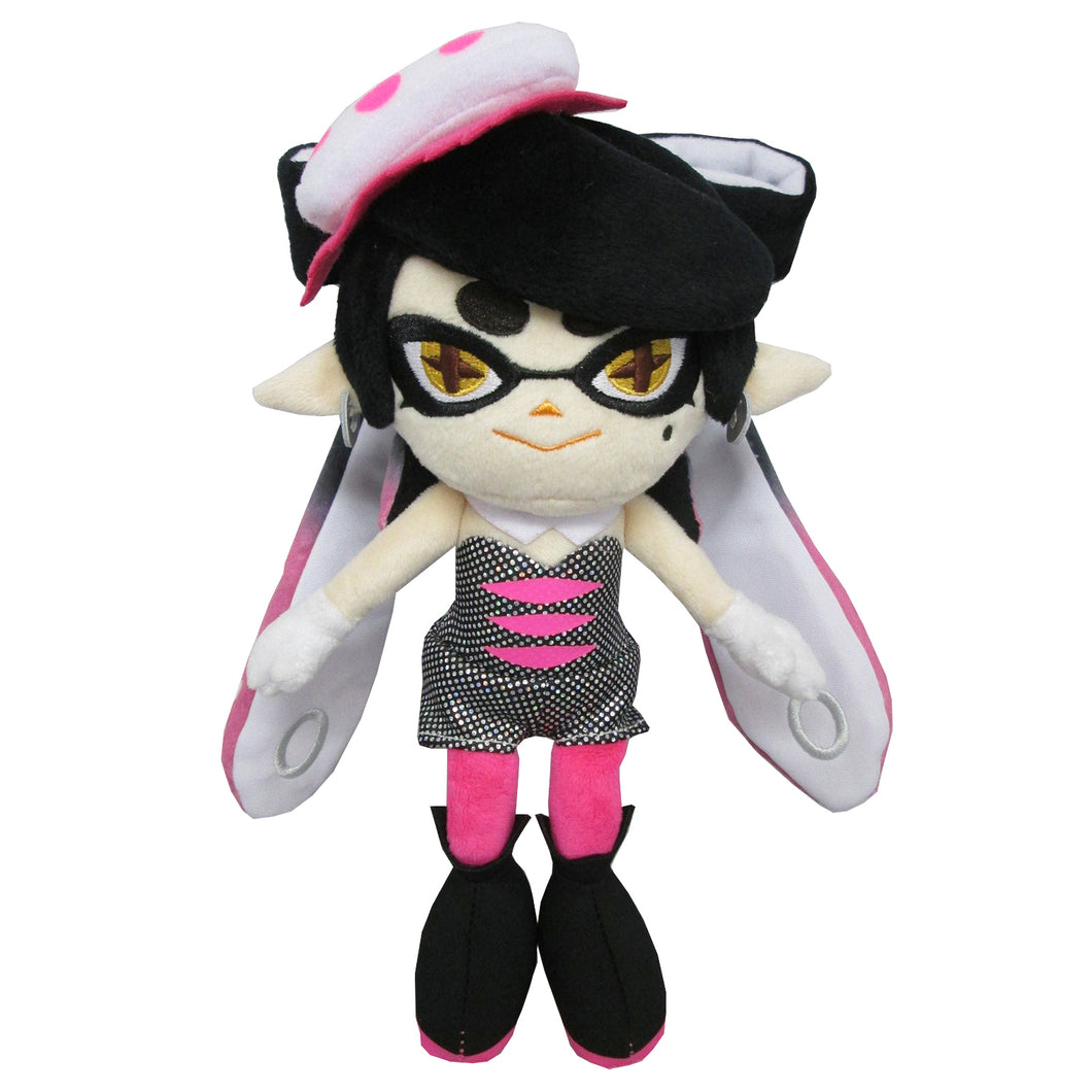 Little Buddy Splatoon Squid Sister Callie Pink Plush, 10