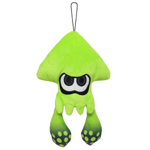 Little Buddy Splatoon Lime Green Inkling Squid Plush, 9""