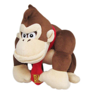 Little Buddy Super Mario All Star Collection Donkey Kong Plush, 8""