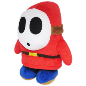 Little Buddy Super Mario All Star Collection Shy Guy Plush, 6.5""