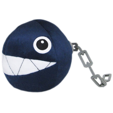 Little Buddy Super Mario All Star Collection Chain Chomp Plush, 5