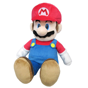 Little Buddy Super Mario All Star Collection (Large) Mario Plush, 24""