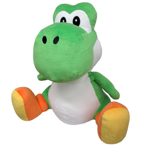 Little Buddy Super Mario All Star Collection Large Yoshi Plush, 18""
