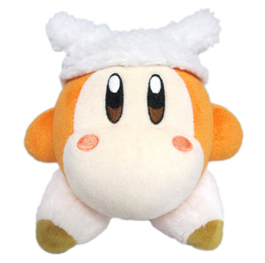 Little Buddy Kirby of the Stars Collection Waddle Dee Sheep Plush, 5.5""