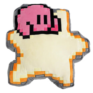 Little Buddy 1637 Kirby Adventure Kirby of the Stars 8-Bit Kirby and Star Cushion Plush, 12""