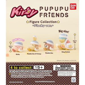 Kirby Pupupu Friends Flocky Ver. Fluffy Figure Collection Gashapon (Bag of 50 Capsules)