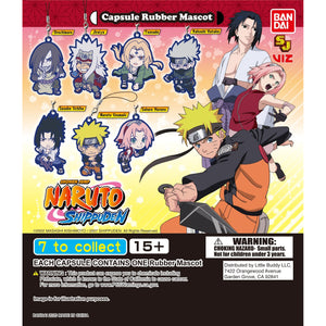 Naruto Shippuden Rubber Mascot Gashapon (Bag of 50 Capsules)