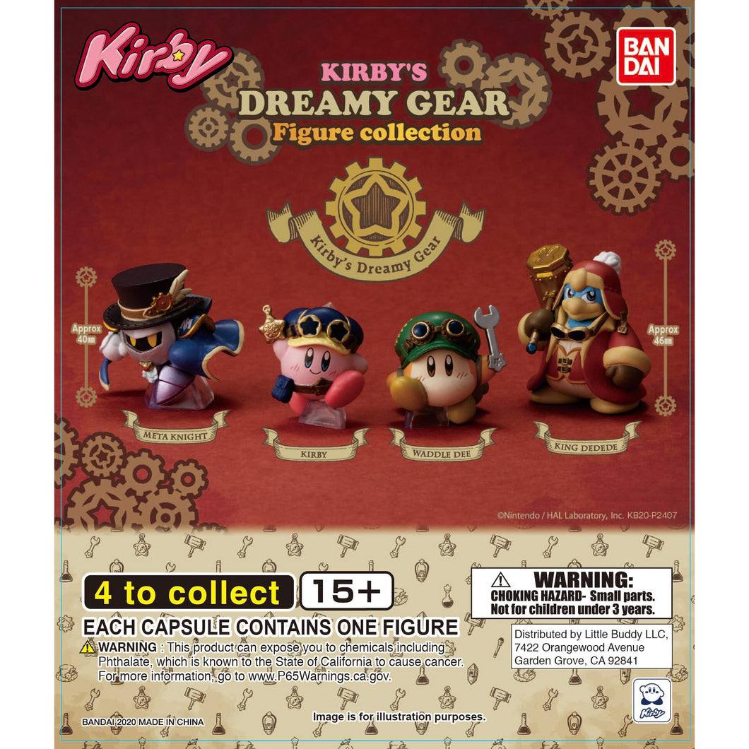Kirby's Dreamy Gear Figure Collection Gashapon (Bag of 50 Capsules)