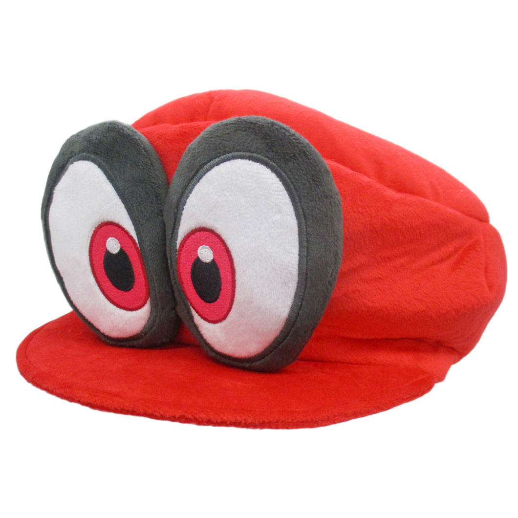 Little Buddy Super Mario Odyssey Red Cappy (Mario's Hat) Plush, 3