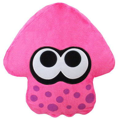 Little Buddy Splatoon 2 Series Neon Pink Squid Cushion Plush, 14