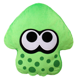 Little Buddy Splatoon 2 Series Neon Green Squid Cushion Plush, 14""