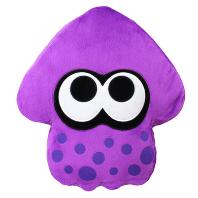 Little Buddy Splatoon 2 Series Neon Purple Squid Cushion Plush, 14