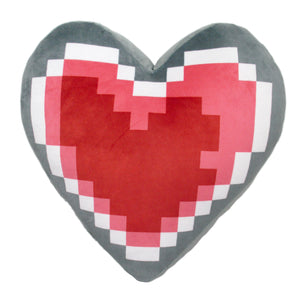 Little Buddy The Legend of Zelda Heart Container Cushion Plush, 14""