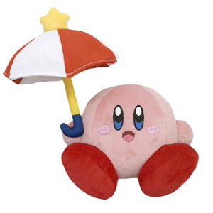 Little Buddy Kirby's Adventure All Star Collection Umbrella / Parasol Kirby Plush, 7""