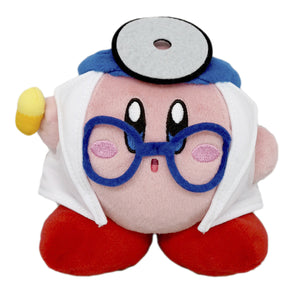 Little Buddy Kirby's Adventure All Star Collection Doctor Kirby Plush, 5""