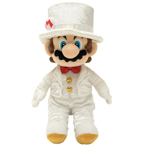 Little Buddy Super Mario Odyssey Mario Groom (Wedding Style) Plush, 14""