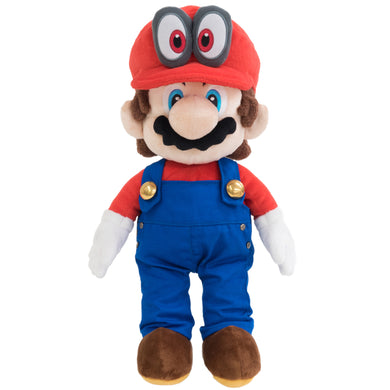 Little Buddy Super Mario Odyssey Mario with Removable Red Cappy Hat (Odyssey Style) Plush, 13