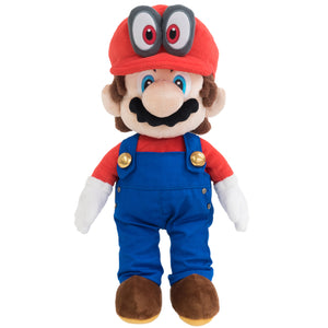 Little Buddy Super Mario Odyssey Mario with Removable Red Cappy Hat (Odyssey Style) Plush, 13""