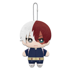 Little Buddy My Hero Academia Shoto Todoroki Plush Dangler, 6""