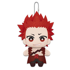 Little Buddy My Hero Academia Eijiro Kirishima Plush Dangler, 6""