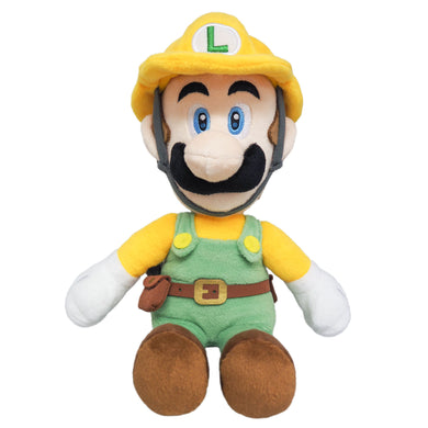 Little Buddy Super Mario Maker 2 Builder Luigi Plush, 10
