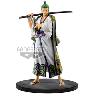 One Piece DXF The Grandline Men Wanokuni Vol.2 Roronoa Zoro Figure 39846