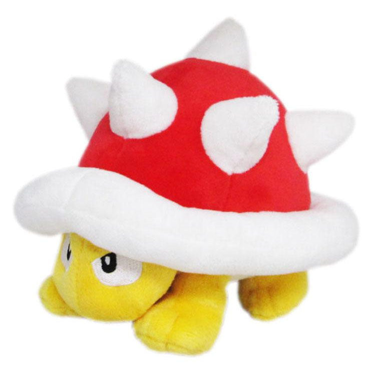 Little Buddy Super Mario All Star Collection Spiny Plush, 4.5