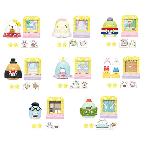 Re-ment Sumikko Gurashi Fashion Show Blind Box (Box of 8)